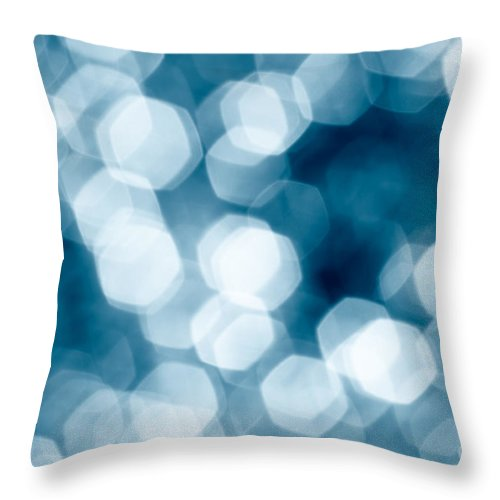 Abstract Throw Pillow featuring the photograph Abstract Background by Gaspar Avila