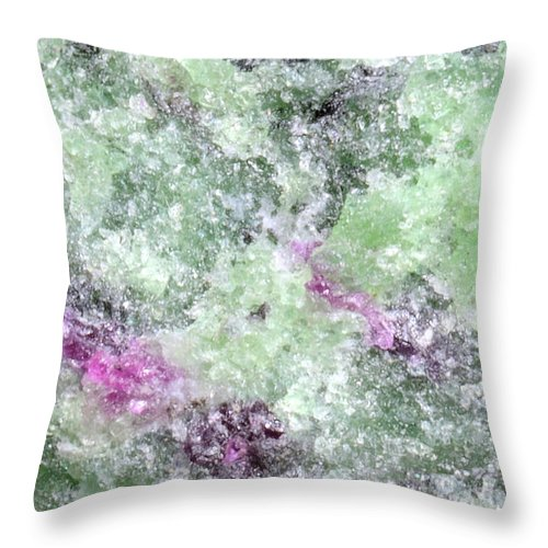 Throw Pillow featuring the photograph Abstract No 3 by George and Sally Stevenson