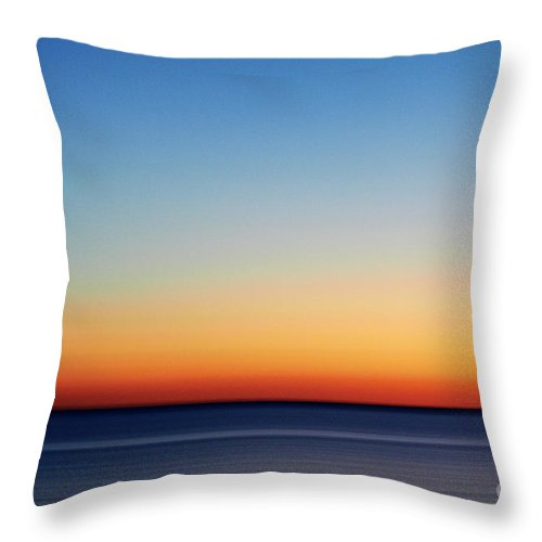 Sky Throw Pillow featuring the photograph Abstract Sky by Tony Cordoza