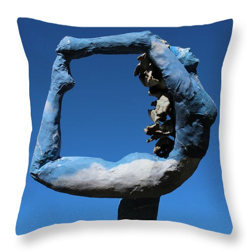 Nature Art Throw Pillow featuring the mixed media After The Rain by Adam Long