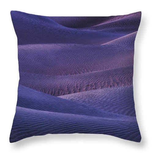 Dunes Throw Pillow featuring the photograph Afterlight by Peter Coskun