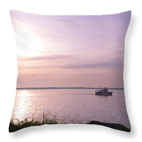 Sailing Throw Pillow featuring the photograph Afternoon Ambiance by Idaho Scenic Images Linda Lantzy