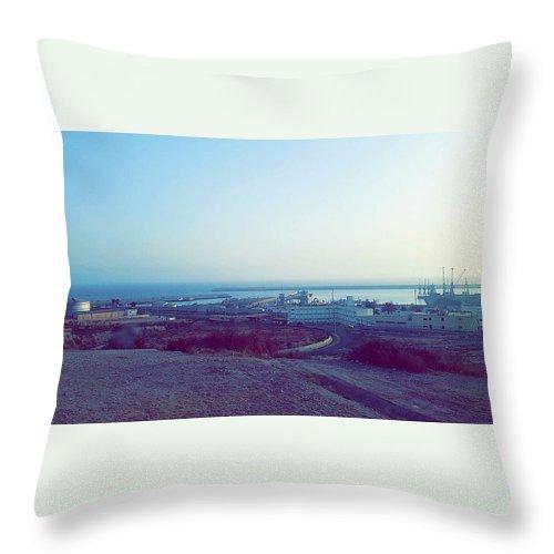 Nature Throw Pillow featuring the photograph Agadir Nature by Hassan Boumhi