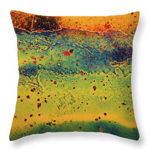 Urban Throw Pillow featuring the photograph Aging In Colour 2 by Tara Turner