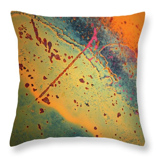 Urban Throw Pillow featuring the photograph Aging In Colour 3 by Tara Turner
