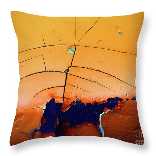 Urban Throw Pillow featuring the photograph Aging In Colour 4 by Tara Turner
