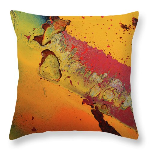 Urban Throw Pillow featuring the photograph Aging In Colour 5 by Tara Turner