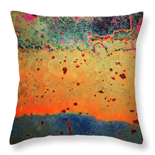 Urban Throw Pillow featuring the photograph Aging In Colour by Tara Turner