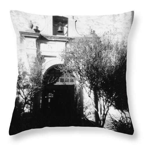 Alamo Throw Pillow featuring the photograph Alamo by Pharris Art