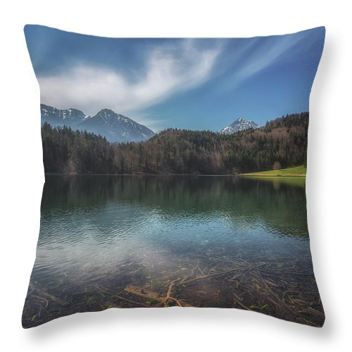 Alatsee Throw Pillow featuring the photograph Alatsee by Chris Fletcher