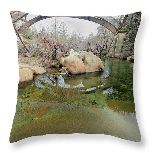 Architecture Throw Pillow featuring the photograph All Life Is A Canvas by Sean Sarsfield