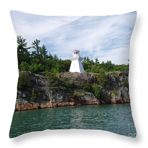 Landscape Throw Pillow featuring the photograph Almost Home To St. Joe by Cathy Beharriell