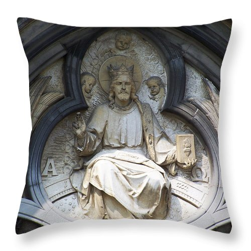 Ireland Throw Pillow featuring the photograph Alpha And Omega by Teresa Mucha