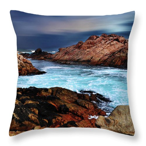 Landscapes Throw Pillow featuring the photograph Amazing Coast by Phill Petrovic