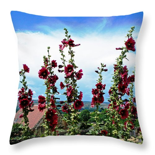 Ameugny Throw Pillow featuring the photograph Ameugny by Jeff Barrett