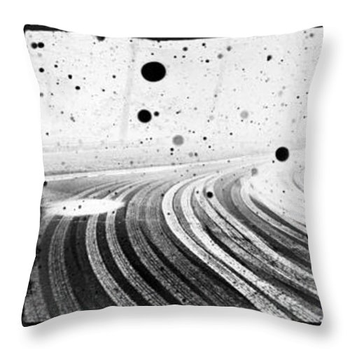 Art Throw Pillow featuring the photograph an English winter - number II by Dorit Fuhg