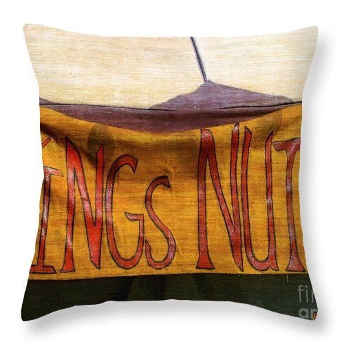 Bar Throw Pillow featuring the painting An Extraordinary Ordinary by RC DeWinter