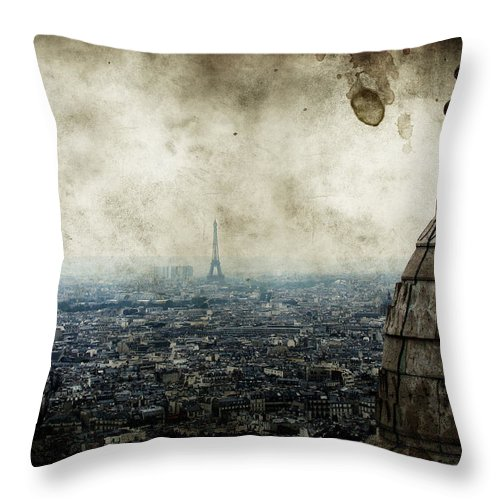 Above Throw Pillow featuring the photograph Anamnesis by Andrew Paranavitana