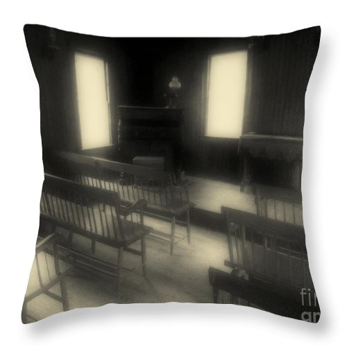 Benches Throw Pillow featuring the photograph Ancestor Worship by RC DeWinter