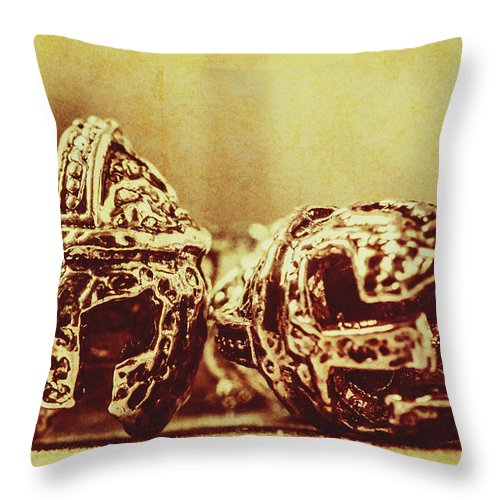 Spartan Throw Pillow featuring the photograph Ancient History by Jorgo Photography - Wall Art Gallery