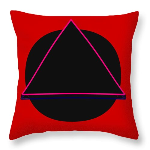 Social Justice Art Throw Pillow featuring the digital art And It Flowed by Pharris Art