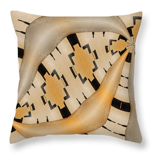 Photography Throw Pillow featuring the photograph Aneurysm by Paul Wear