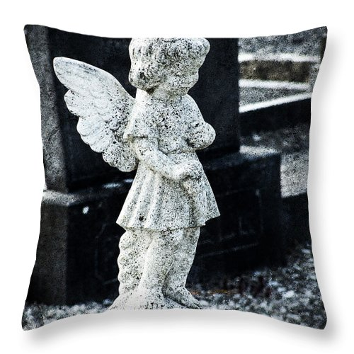 Ireland Throw Pillow featuring the photograph Angel In Roscommon No 3 by Teresa Mucha