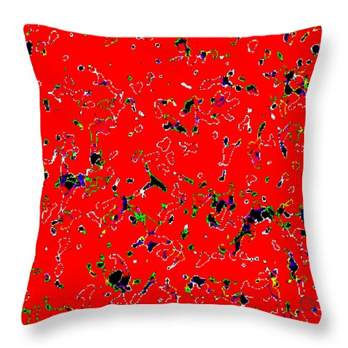 Square Throw Pillow featuring the digital art Animal Crackers by Eikoni Images