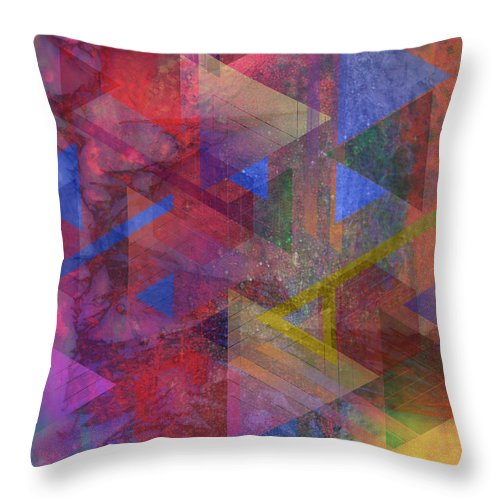 Another Time Throw Pillow featuring the digital art Another Time by John Beck