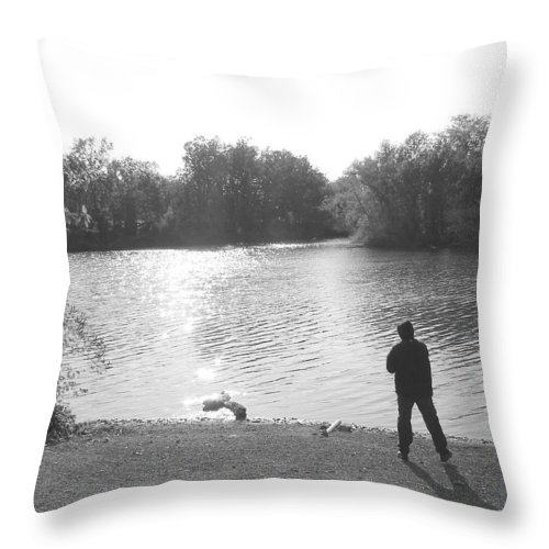 Throw Pillow featuring the photograph Another View by Luciana Seymour
