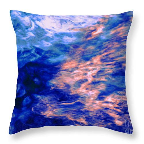 Abstract Throw Pillow featuring the photograph Answered Prayers by Sybil Staples