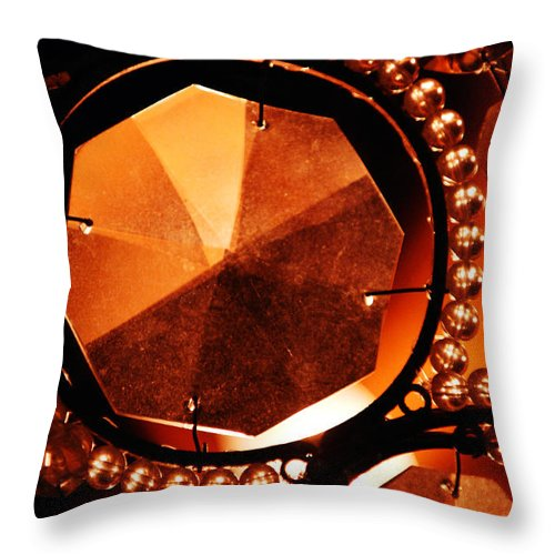 Antique Throw Pillow featuring the photograph Antique Glass by Jill Reger