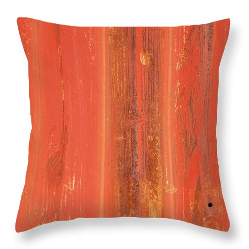 Antique Throw Pillow featuring the photograph Antique Wall Texture by Pam Elliott
