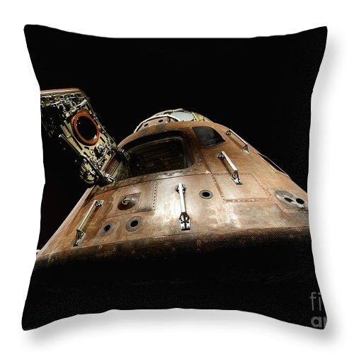 Apollo Throw Pillow featuring the photograph Apollo 14 by Glennis Siverson
