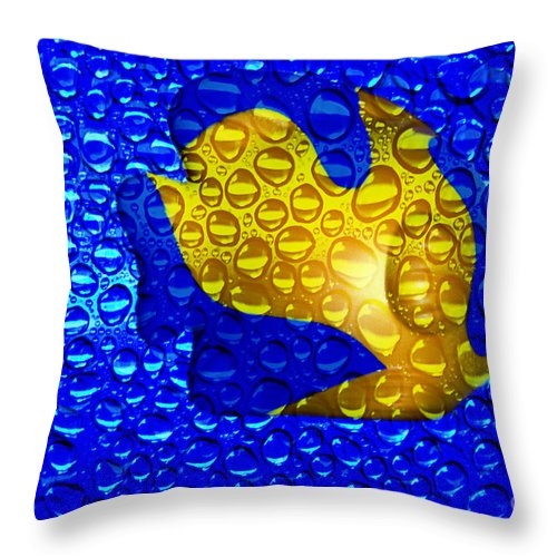 Clay Throw Pillow featuring the photograph Aquarium by Clayton Bruster
