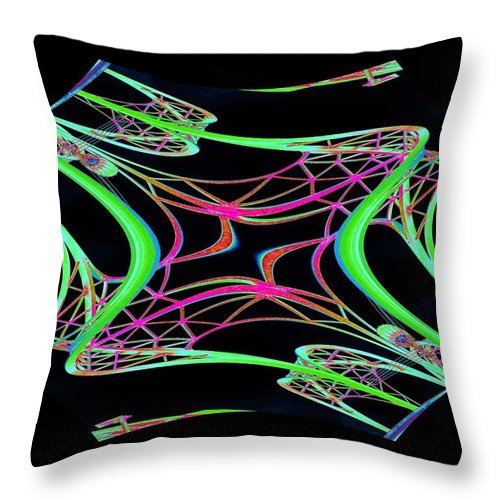Seattle Throw Pillow featuring the photograph Arches 5 by Tim Allen