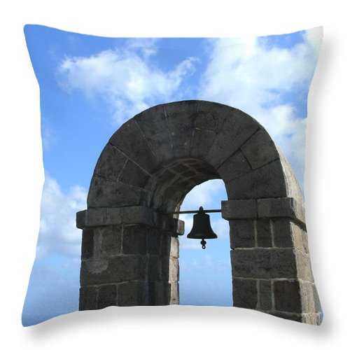 Arches Throw Pillow featuring the photograph Arches by Jean Wolfrum