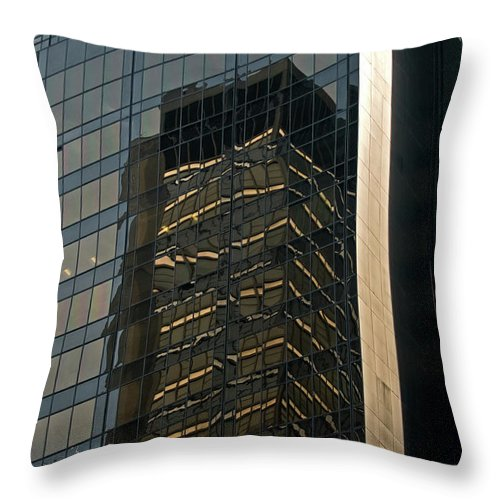 architectural Art Throw Pillow featuring the photograph Architectural Art by Paul Mangold