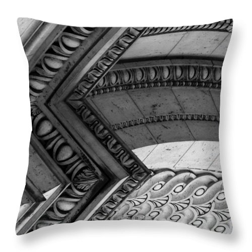 Architecture Throw Pillow featuring the photograph Architectural Details Of The Arc by Donna Corless