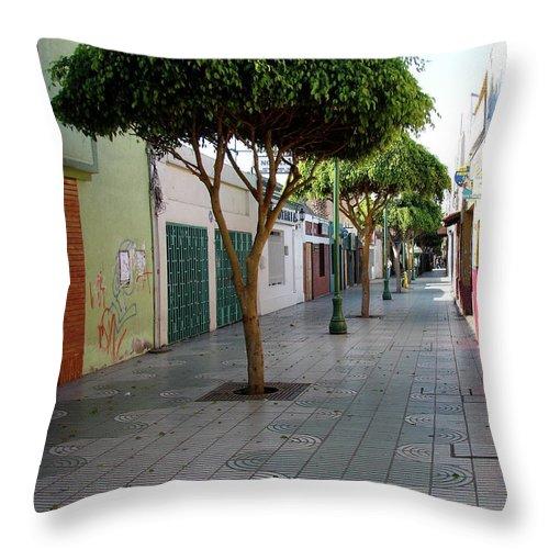 Arica Throw Pillow featuring the photograph Arica Chile by Brett Winn