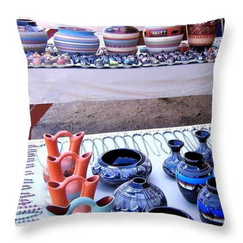 Arizona Throw Pillow featuring the photograph Arizona 14 by Will Borden