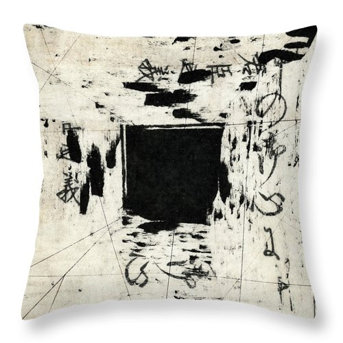 Arrhythmic Throw Pillow featuring the photograph Arrhythmic Number One by Carol Leigh