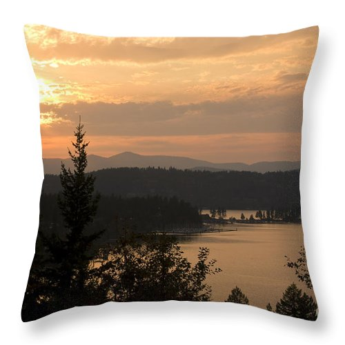 Idaho Throw Pillow featuring the photograph Arrow Point by Idaho Scenic Images Linda Lantzy