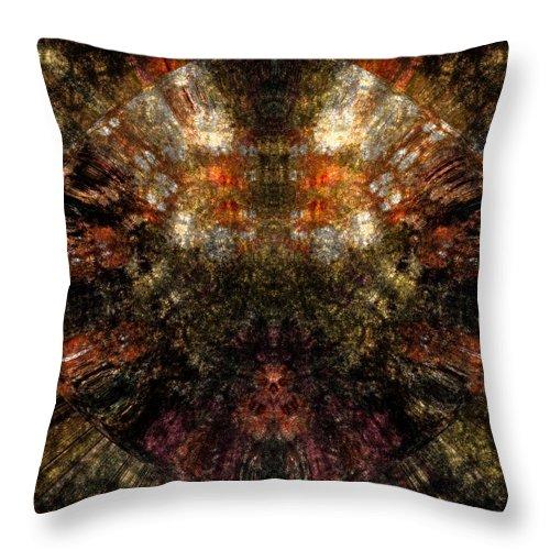 Fantasy Throw Pillow featuring the digital art Artifact by David Lane