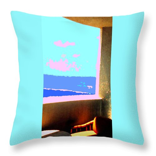 Aruba Throw Pillow featuring the photograph Aruba by Ian MacDonald