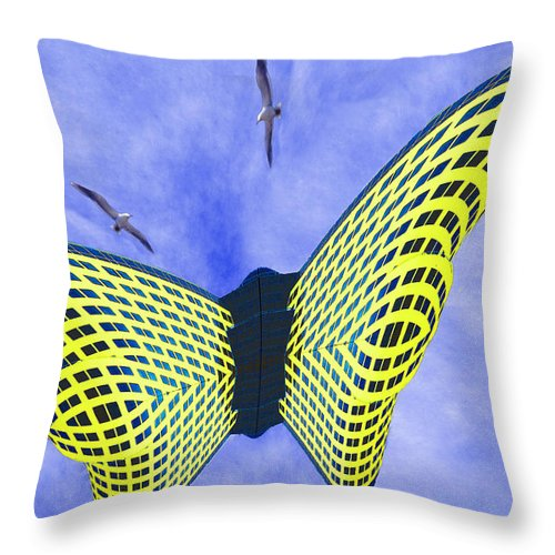 Photography Throw Pillow featuring the photograph Ascent by Paul Wear
