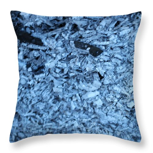 Ashes Throw Pillow featuring the photograph Ashes by Igor Zharkov