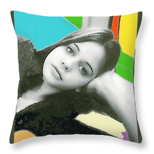 Relaxed Throw Pillow featuring the photograph At Ease by Bjorn Sjogren