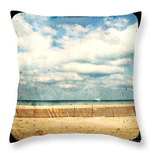 Ocea Throw Pillow featuring the photograph At Rest by Dana DiPasquale