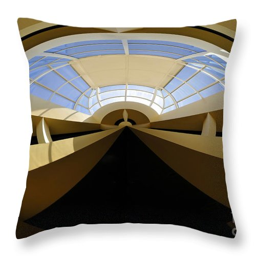 Art Throw Pillow featuring the painting At The End Of The Tunnel by David Lee Thompson